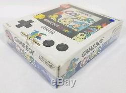 Nintendo Game Boy Color Pokémon Center Gold Silver Handheld System GBC RARE LNC