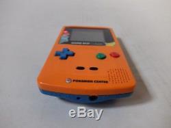 Nintendo Game Boy Color Pokemon Center Limited Rare! Orange Used Japan import JP