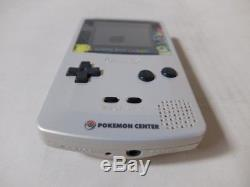 Nintendo Game Boy Color Pokemon Center Limited With 2 Game Rare