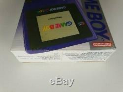 Nintendo Game Boy Color Pokémon Edition Handheld System Grape