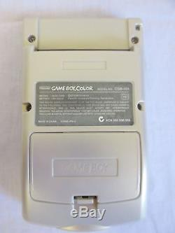Nintendo Game Boy Color Pokemon Edition Silver & Gold Handheld System COMPLETE