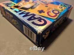 Nintendo Game Boy Color Pokemon Edition Yellow Handheld System Complete Box CIB