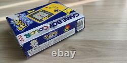 Nintendo Game Boy Color Pokemon Pikachu Special Limited Edition