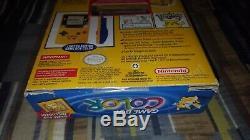 Nintendo Game Boy Color Pokemon Pikachu Yellow Edition Brand New Sealed Unopened