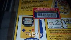 Nintendo Game Boy Color Pokemon Pikachu Yellow Edition Brand New Sealed Unopened