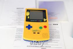 Nintendo Game Boy Color Pokemon Special Edition mit Pokemon Kristall OVP