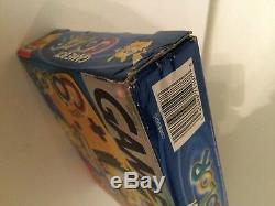 Nintendo Game Boy Color Pokemon Yellow Pikachu Handheld System In Box Super Rare
