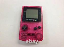 Nintendo Game Boy Color Sakura Taisen Limited Edition Console Pink Japan USED