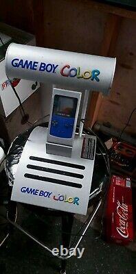 Nintendo Game Boy Color Store Countertop Kiosk System
