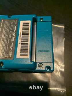 Nintendo Game Boy Color Teal Handheld Console Open Box New