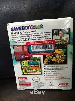 Nintendo Game Boy Color Teal New in Box Sealed (NIB) PLUS TOY STORY 2 GAME NEW