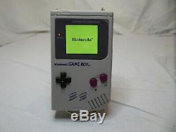 Nintendo Game Boy DMG-01 IPS LCD V2 screen 8 Color Backlight New housing refurb