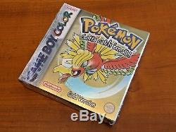 Nintendo Game Boy / Gameboy Color game Pokemon Gold Version NOS CIB