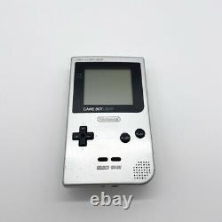 Nintendo Game Boy Light Console Only Video Games Silver color USED Worked