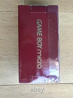 Nintendo Game Boy MIcro 20th Anniversary Famicom Color Mario Console New Japan