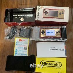 Nintendo Game Boy Micro Famicom 20th Anniversary Famicom Color from jAPAN