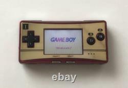 Nintendo Game Boy Micro Famicom Color 20th Anniversary Model Used byDHL