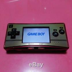 Nintendo Game Boy Micro Famicom Color Console Used Japan Free Shipping EMS