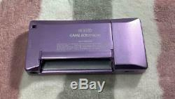 Nintendo Game Boy Micro Game Console Color Purple Tested Working USED Japan DHL