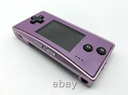 Nintendo Game Boy Micro Game Console Color Purple Working USED Japan L04