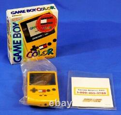 Nintendo Game Boy Rare Boxed Tommy Hilfiger GB Color System Limited Edition