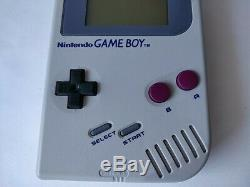 Nintendo Game boy Gray Color Console (DMG-001), Manual, Boxed set tested-b625