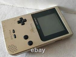 Nintendo Game boy Light Gold color console MGB-101, Manual, Boxed set-c1220