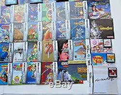 Nintendo GameBoy Advance Video Games & Manuals DS Color Bundle Lot Mario Kart