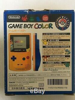 Nintendo GameBoy Color Console Pokemon Center 3rd Anniversary Edition CGB-001