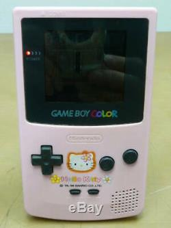 Nintendo GameBoy Color Hello Kitty Special Edition Japan Video Game Console