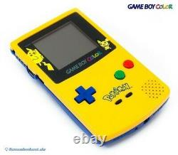 Nintendo GameBoy Color Konsole #Limited Pokemon Edition Yellow / Gelb
