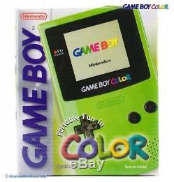 Nintendo GameBoy Color Konsole #Neongrün/Grün/Kiwi/Lime (mit OVP) NEUWERTIG