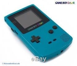 Nintendo GameBoy Color Konsole #Türkis / Blau / Teal (mit OVP) NEUWERTIG