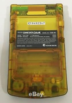 Nintendo GameBoy Color OZZIE! OZZIE! OZZIE! Handheld Complete In Box CIB NR MINT