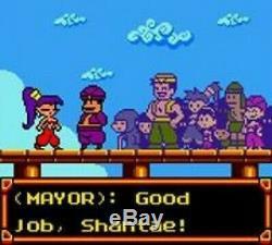 Nintendo GameBoy Color Spiel Shantae Modul NEUWERTIG