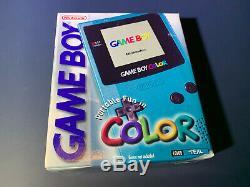 Nintendo GameBoy Color Teal Game Boy New Factory Sealed