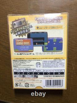 Nintendo GameBoy Micro 20th Anniversary Edition Famicom Color Software GBM Japan