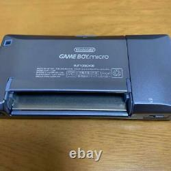 Nintendo GameBoy Micro Blue Color from japan import