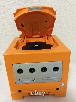 Nintendo GameCube Orange Game Boy Player Controller DOL-001 Japan