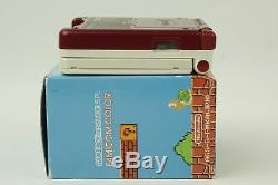 Nintendo Gameboy Advance SP Famicom Color Console GBA Box From Japan