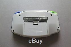 Nintendo Gameboy Advance, Super Famicom Colors, AGS-101, Backlit, Refurbished