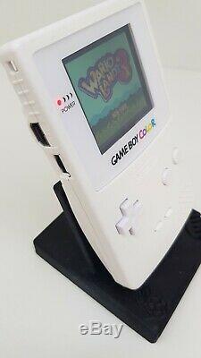 Nintendo Gameboy Color Backlight White Glass Screen Lens
