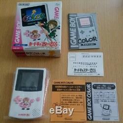 Nintendo Gameboy Color CARD CAPTOR SAKURA Limited edition console rare