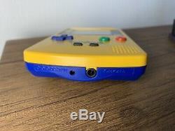 Nintendo Gameboy Color (Colour) Pokemon Pikachu Special Edition Box Boxed