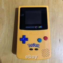 Nintendo Gameboy Color Console Pokemon Reshell + Backlight Backlit