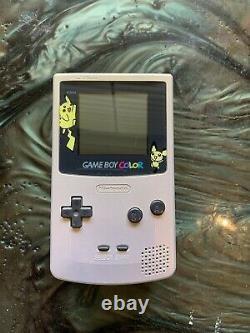 Nintendo Gameboy Color Console RARE Pokemon / Pikachu Limited Edition