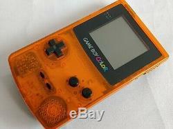 Nintendo Gameboy Color DAIEI HAWKS Limited edition Orange console Boxed-b1122