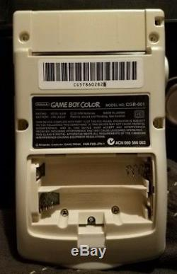 Nintendo Gameboy Color Dmg With True Backlit Ags-101