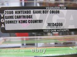 Nintendo Gameboy Color, Donkey Kong Country Vga 95 Mint Gold Ovp Neu