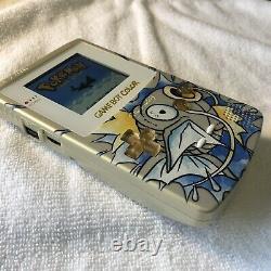 Nintendo Gameboy Color Light IPS Pokemon Shiny Gold Magikarp